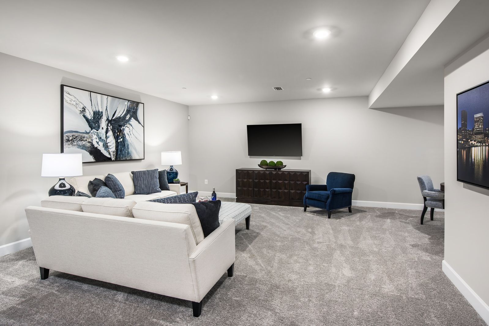 Living Area featured in the Albright By HeartlandHomes in Pittsburgh, PA