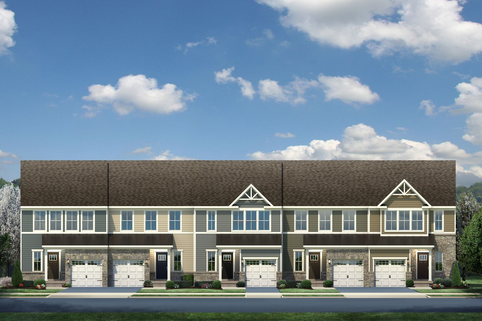 Exterior featured in the Roxbury By Ryan Homes in Greenville-Spartanburg, SC