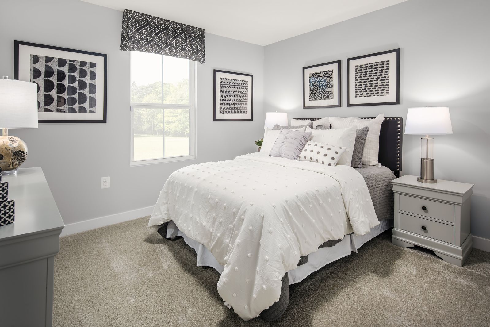 Bedroom featured in the Grand Bahama By Ryan Homes in Akron, OH