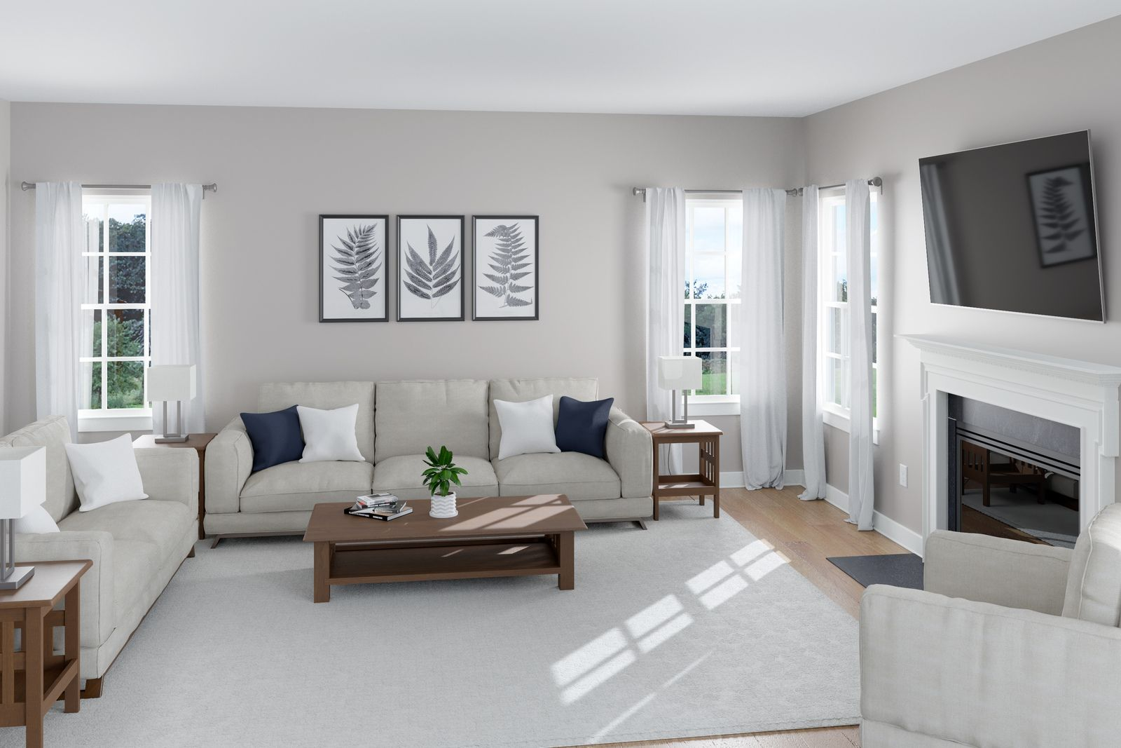 Living Area featured in the Lakeland By Ryan Homes in Norfolk-Newport News, VA