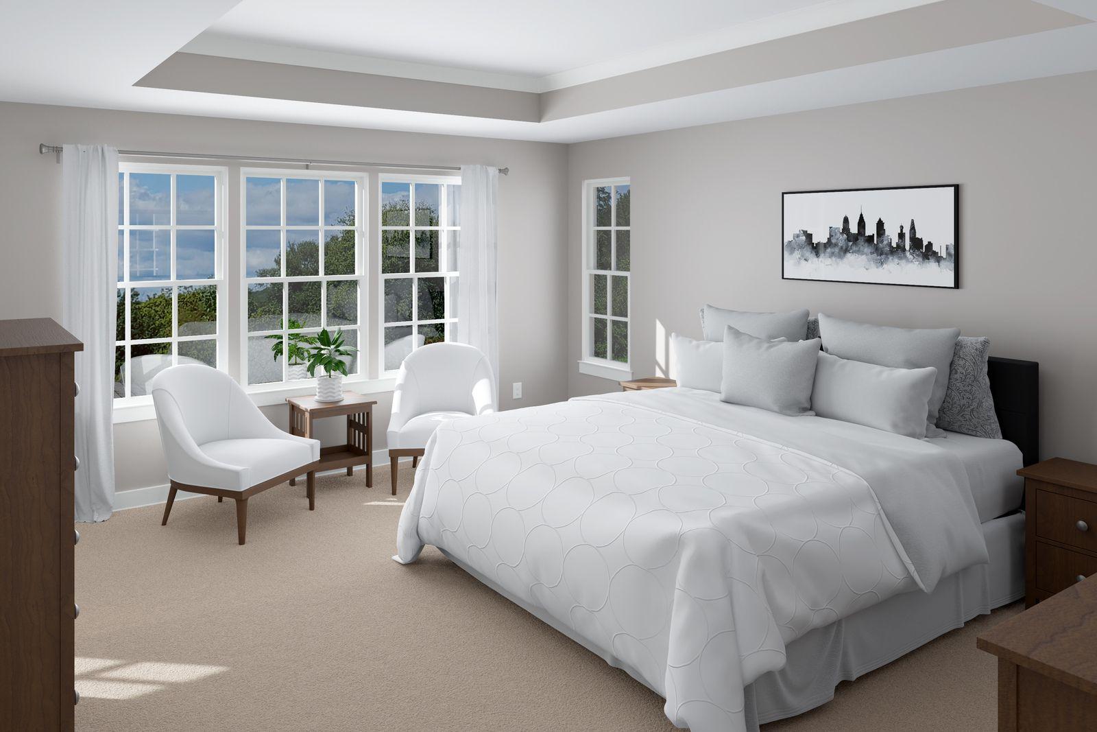Bedroom featured in the Lakeland By Ryan Homes in Norfolk-Newport News, VA