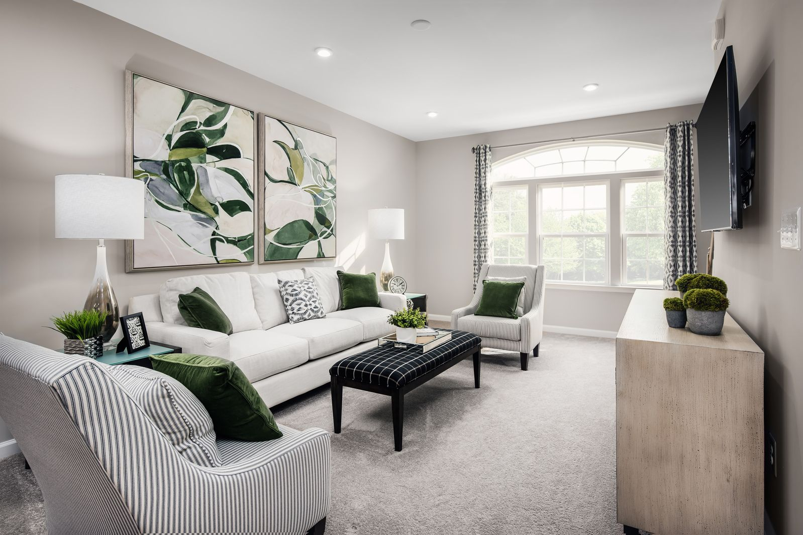 Living Area featured in the Hepburn with Loft By Ryan Homes in Washington, VA