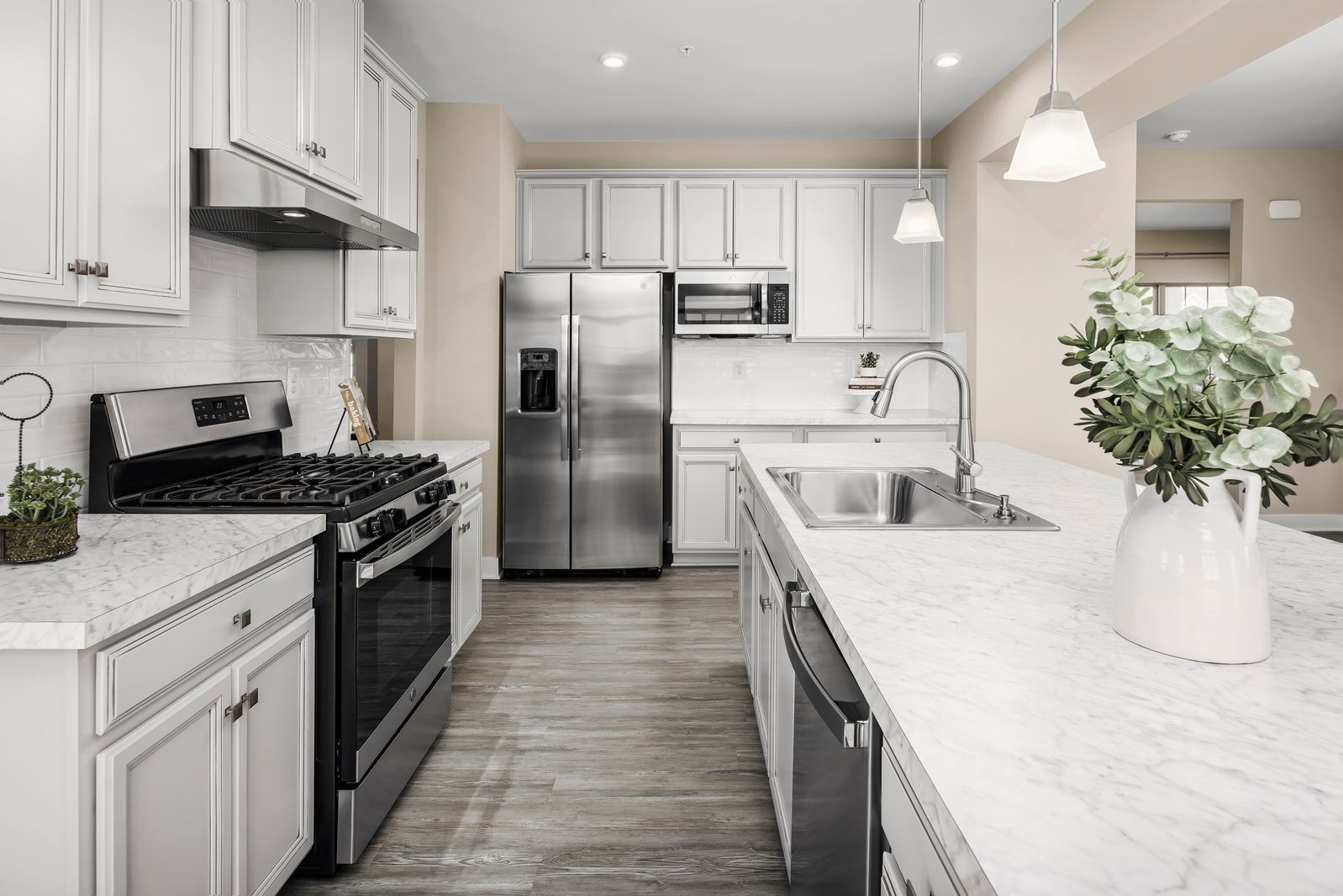 Kitchen featured in the Columbia w/ Optional Finished Basement By Ryan Homes in Chicago, IL