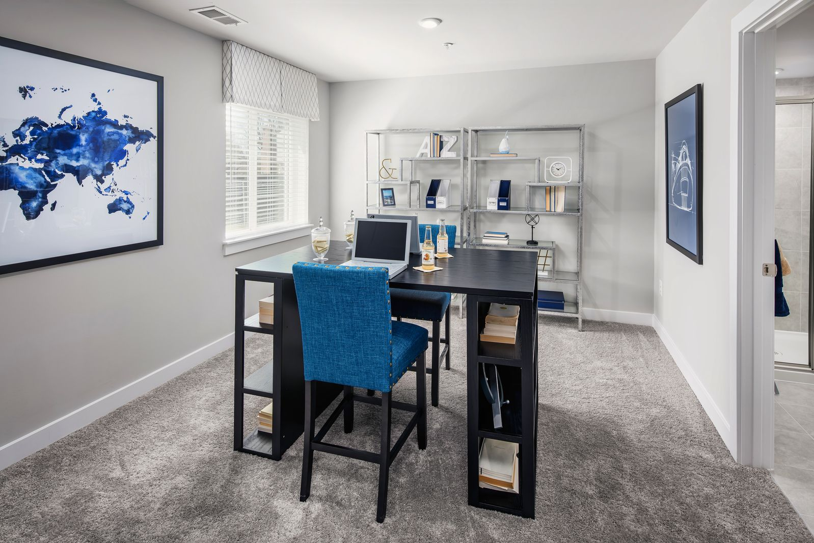 Living Area featured in the Corsica By Ryan Homes in Washington, MD