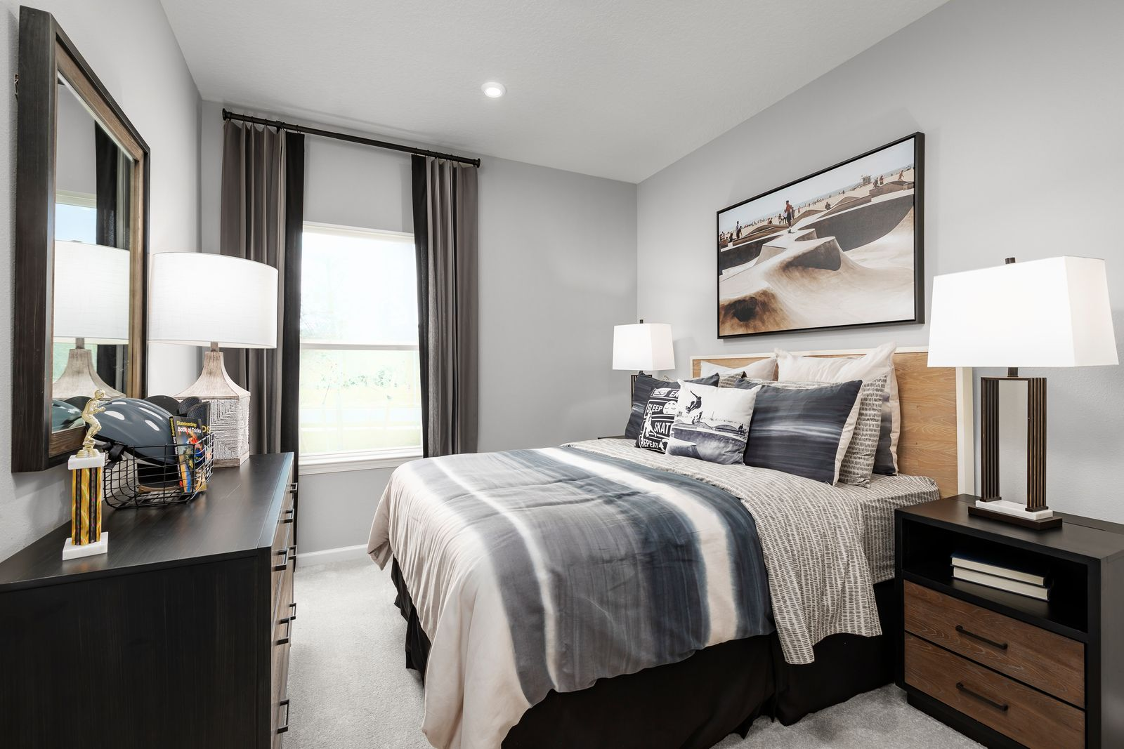 Bedroom featured in the Sandalwood By Ryan Homes in Indian River County, FL