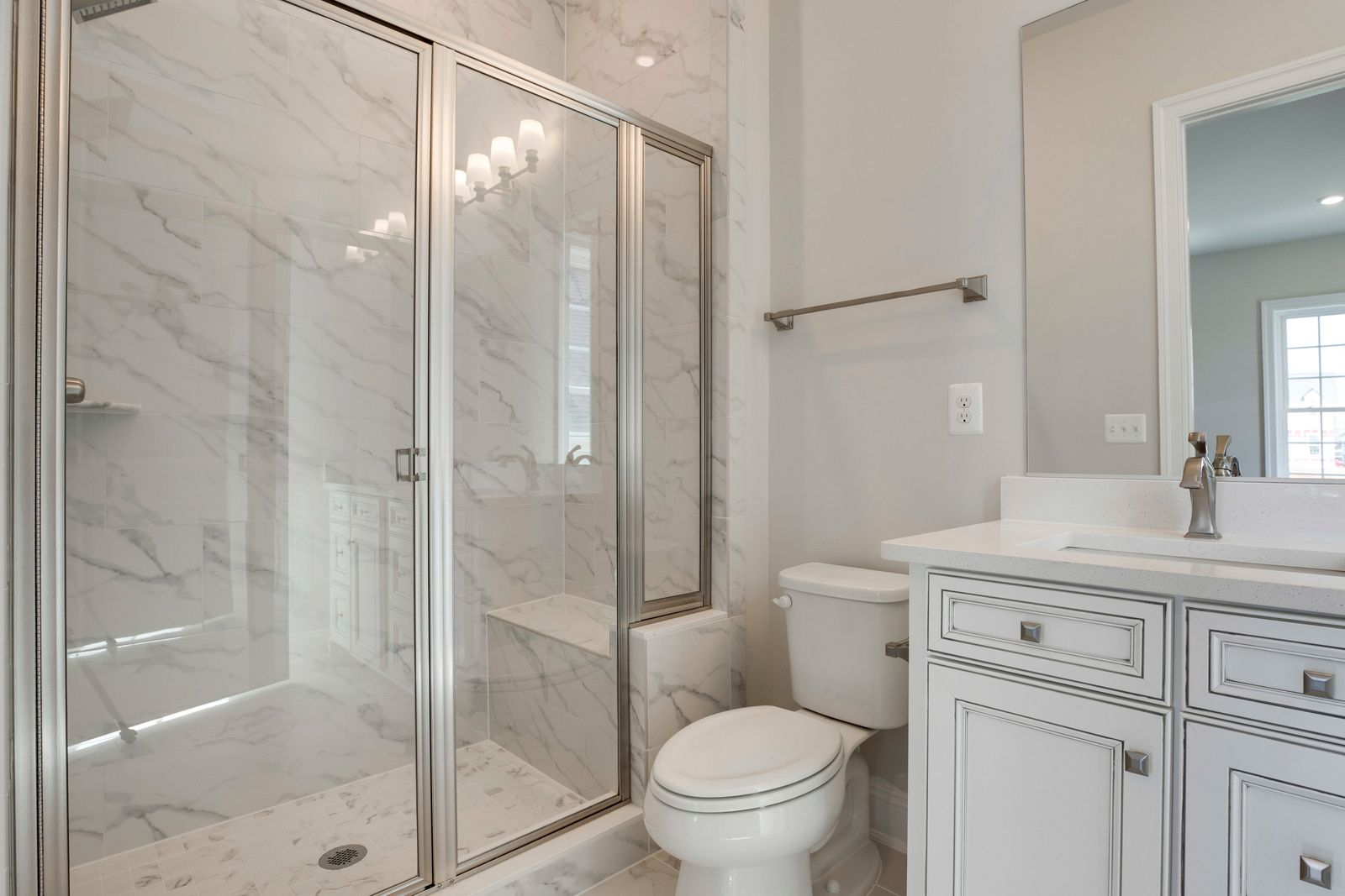 Bathroom featured in the Monticello II By NVHomes in Washington, VA