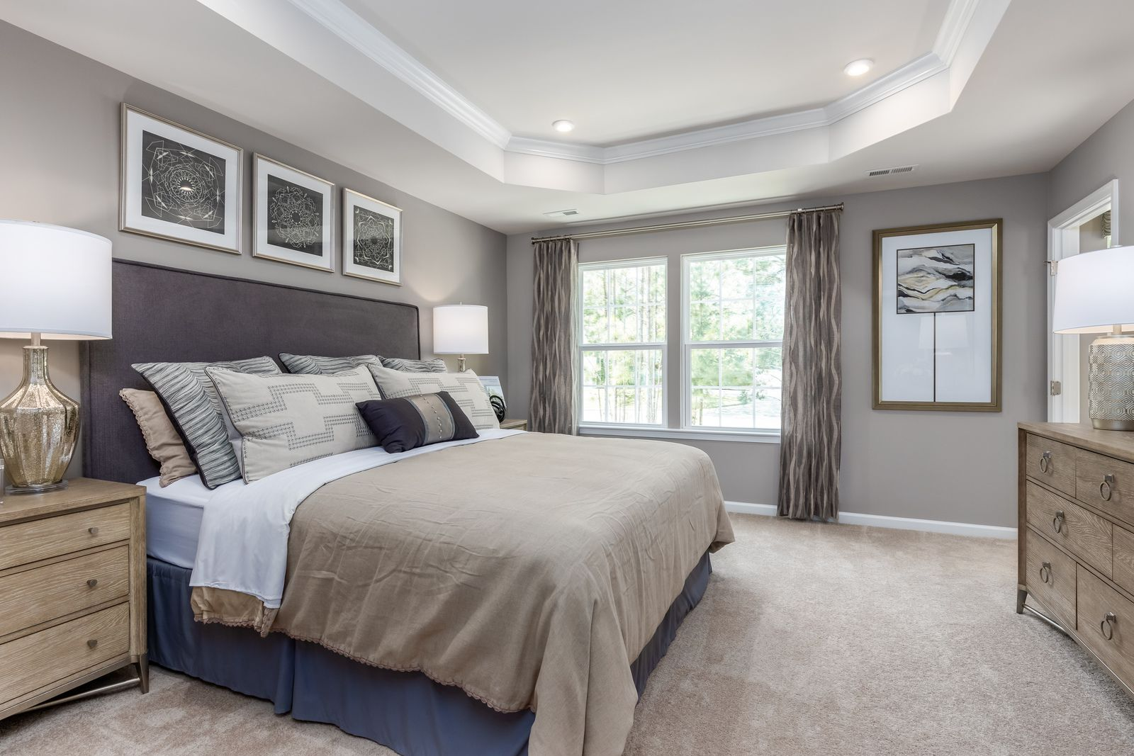 Bedroom featured in the Mozart Rear 2-Car Garage By Ryan Homes in Chicago, IL