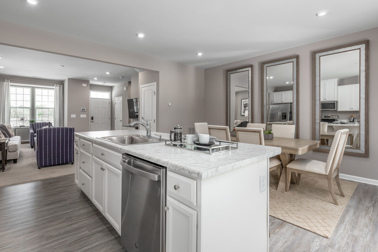 Kitchen featured in the Mozart By Ryan Homes in Greenville-Spartanburg, SC
