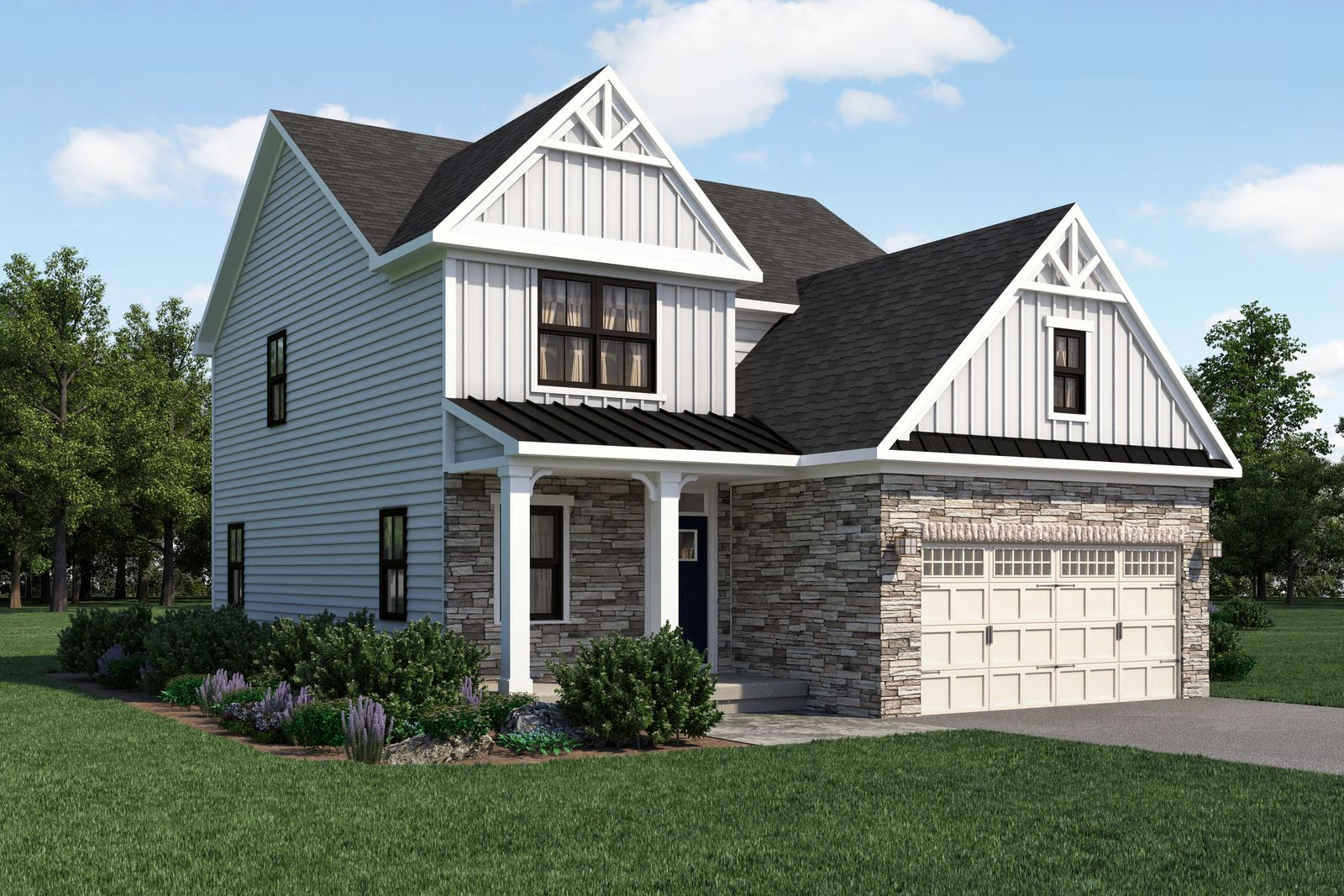 Exterior featured in the Ballenger By Ryan Homes in Dover, DE