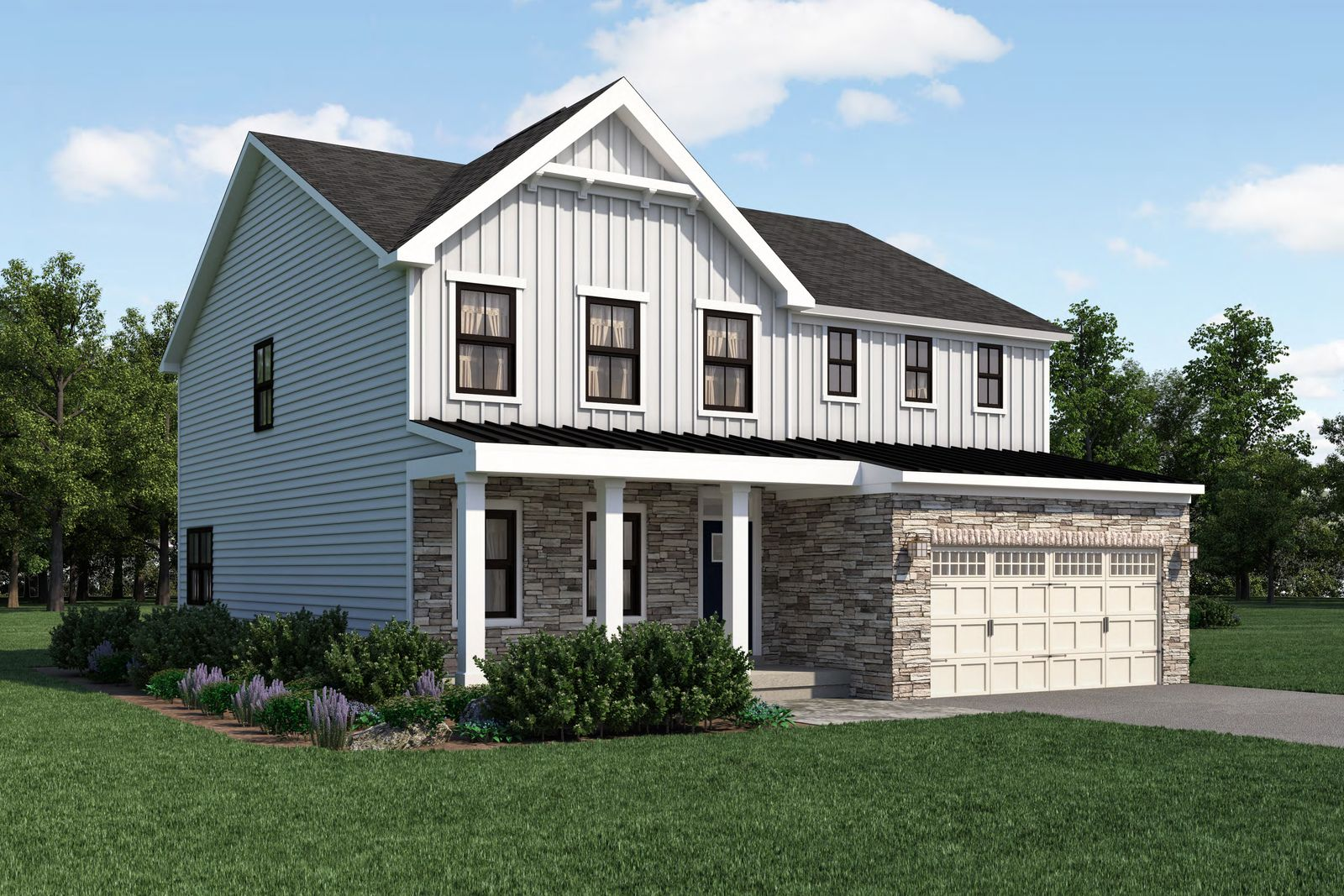 Exterior featured in the Lehigh By Ryan Homes in Chicago, IL
