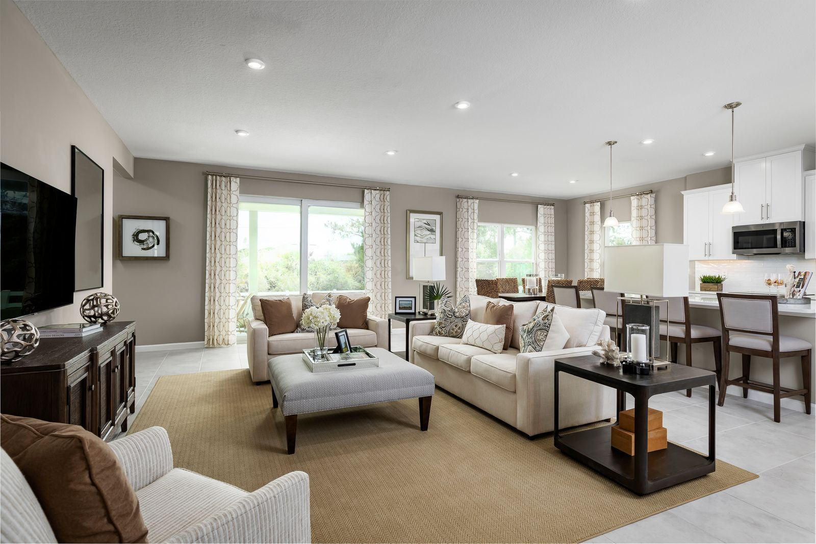 Living Area featured in the Peterson Cove By Ryan Homes in Indian River County, FL