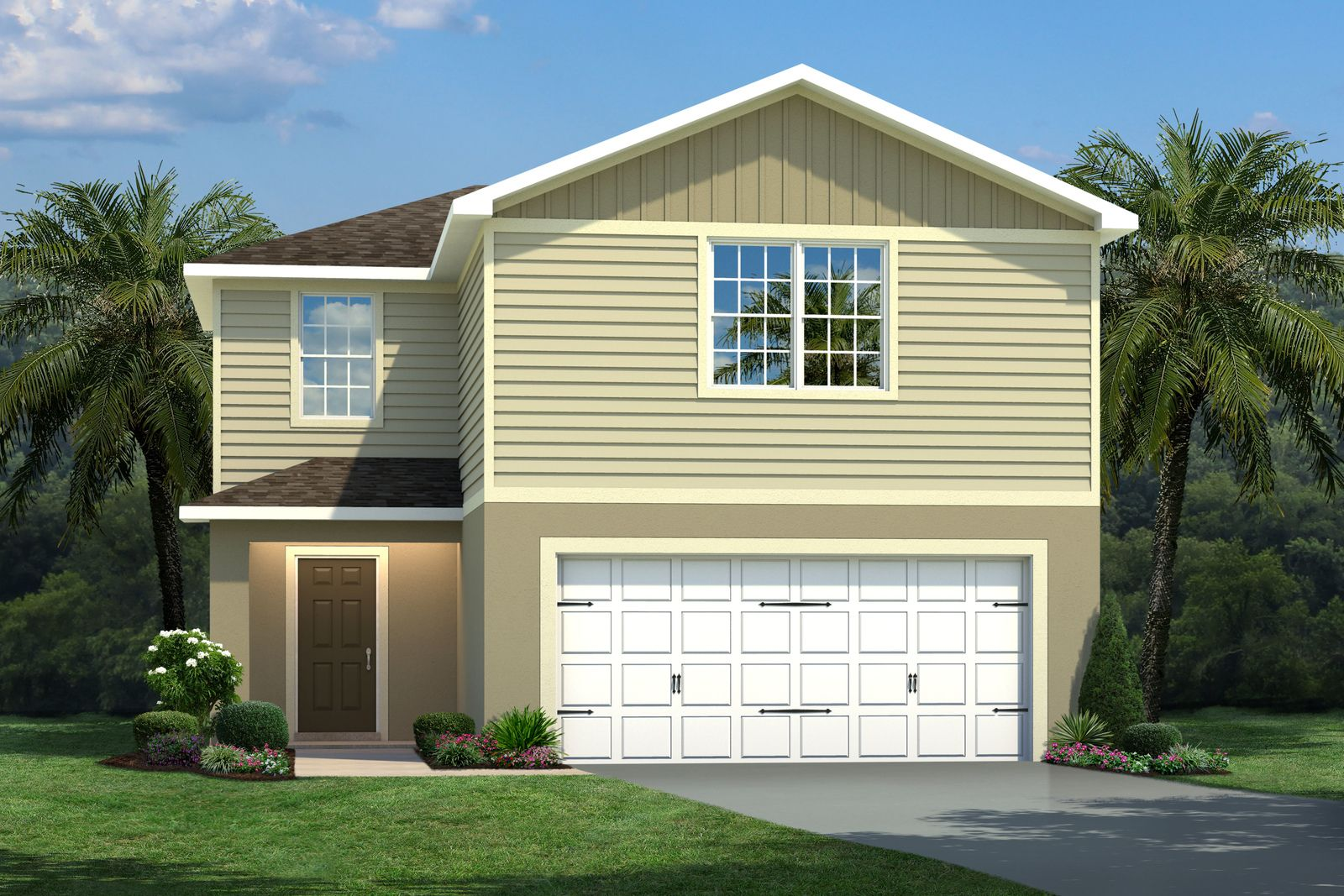 Exterior featured in the Mango By Ryan Homes in Tampa-St. Petersburg, FL