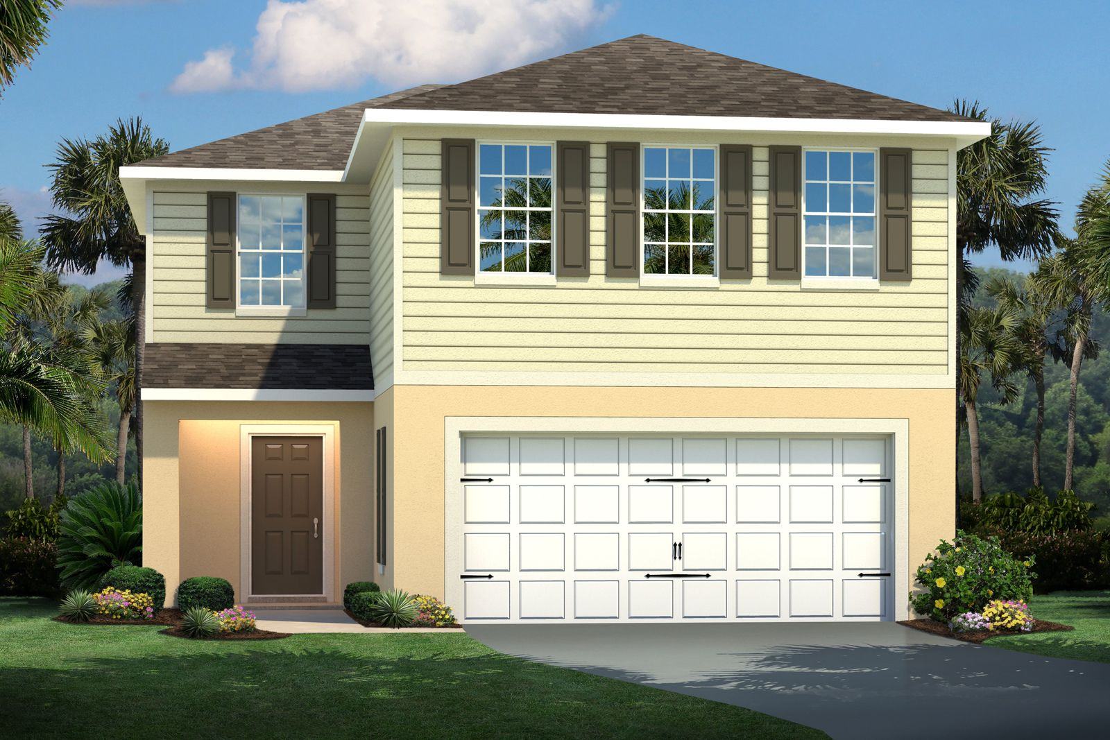 Exterior featured in the Sweet Bay By Ryan Homes in Tampa-St. Petersburg, FL