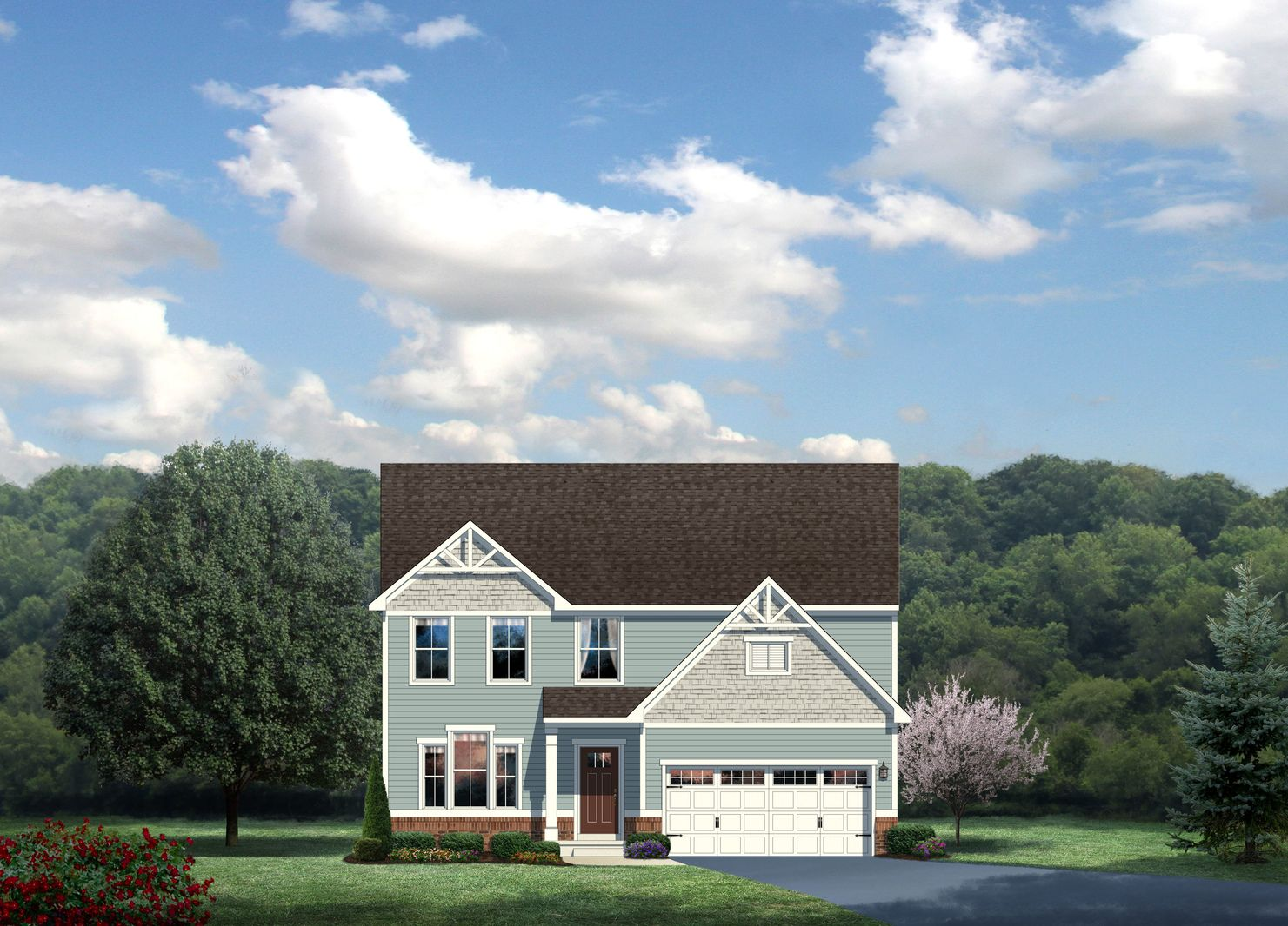 Exterior featured in the Genoa By HeartlandHomes in Morgantown, WV