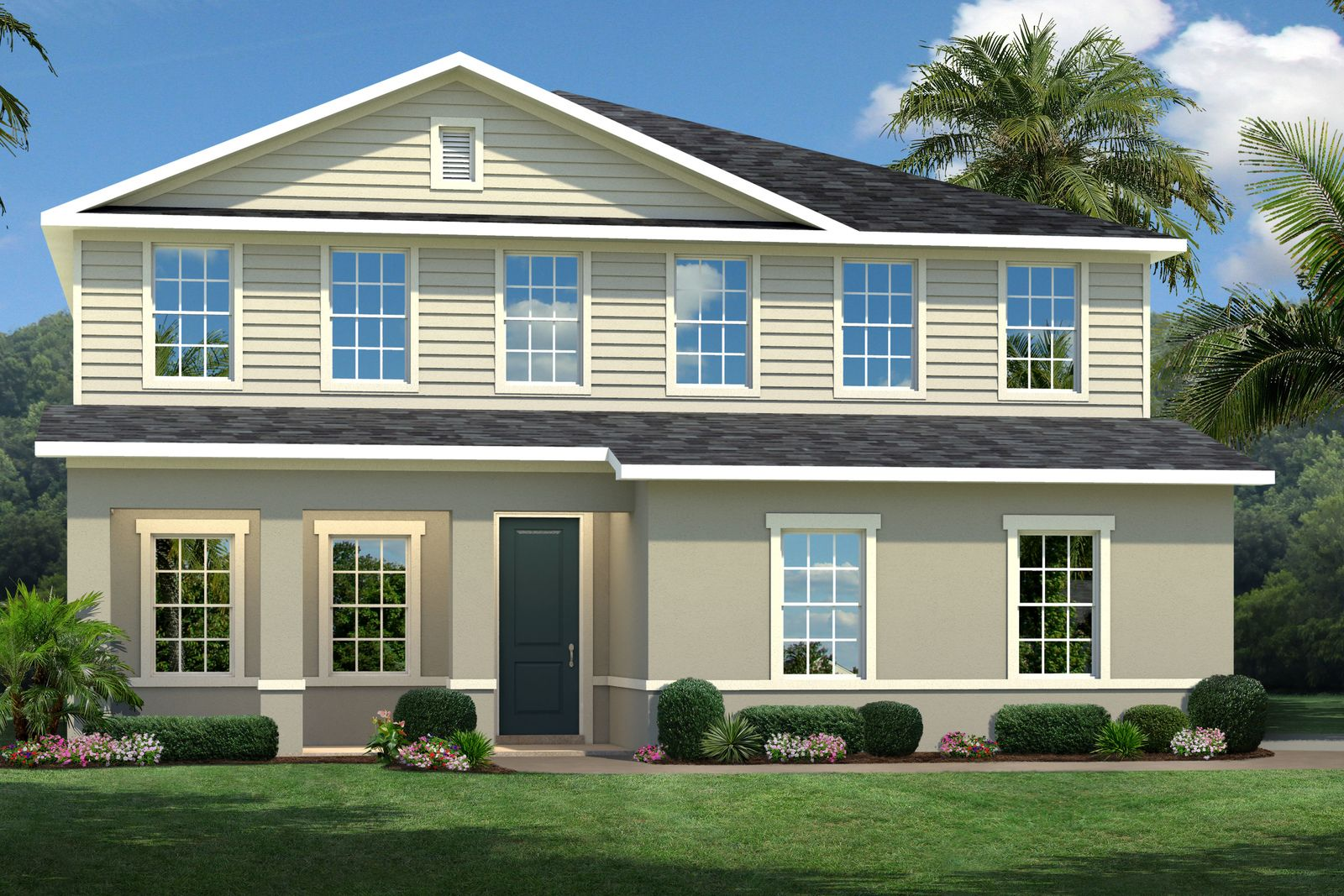 Exterior featured in the Lynn Haven By Ryan Homes in Orlando, FL