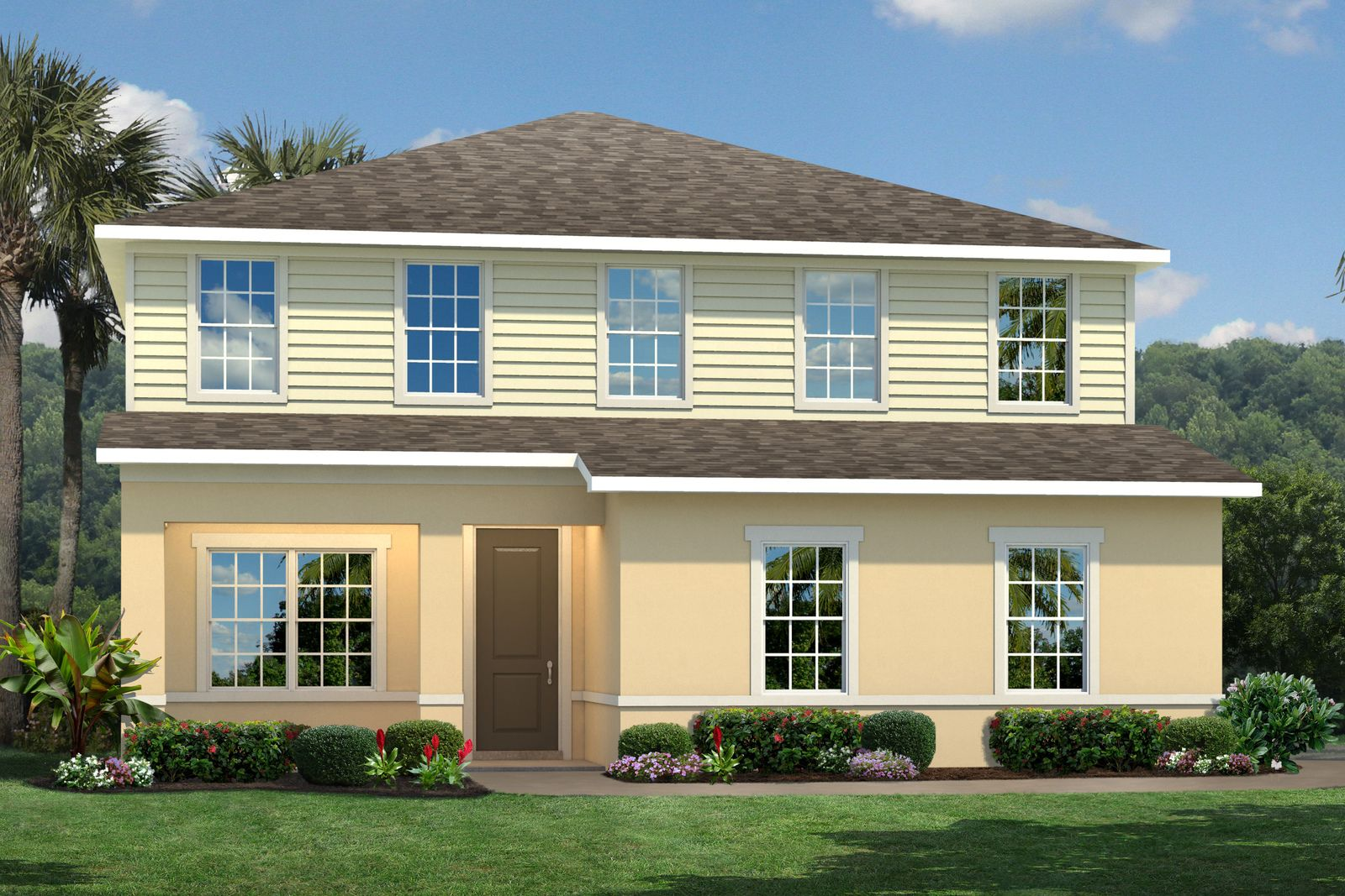 Exterior featured in the Crescent By Ryan Homes in Orlando, FL