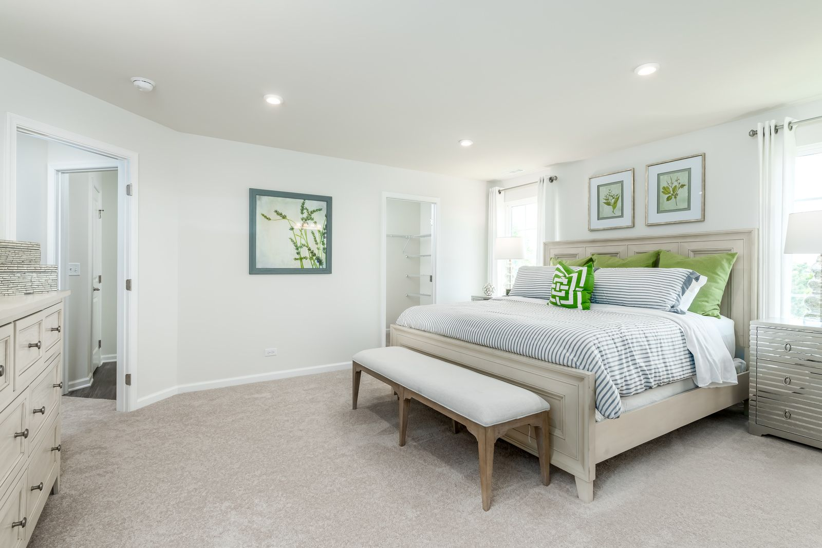 Bedroom featured in the Rosecliff By Ryan Homes in Chicago, IL