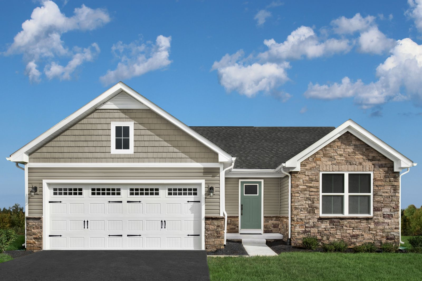 Exterior featured in the Grand Bahama By Ryan Homes in Dover, DE