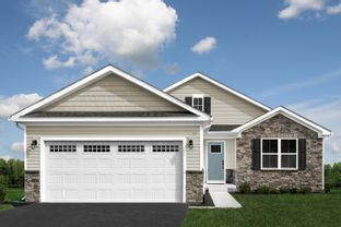 Dominica Spring Ranch Slab - Basement Available - Grande Reserve Ranch Homes: Yorkville, Illinois - Ryan Homes