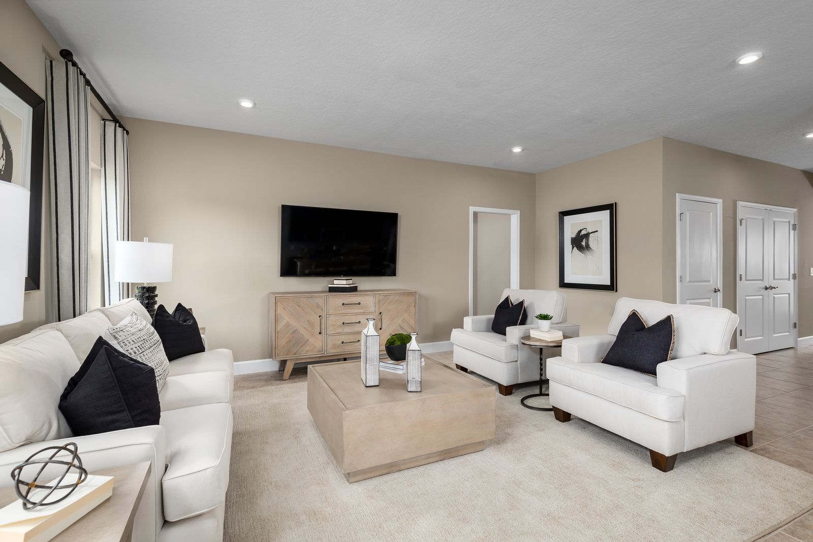 Living Area featured in the Adeline By Ryan Homes in Indian River County, FL