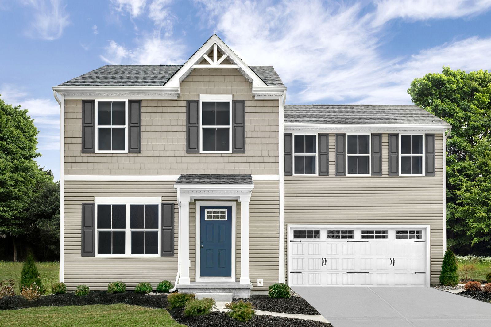 Exterior featured in the Birch By Ryan Homes in Dover, DE