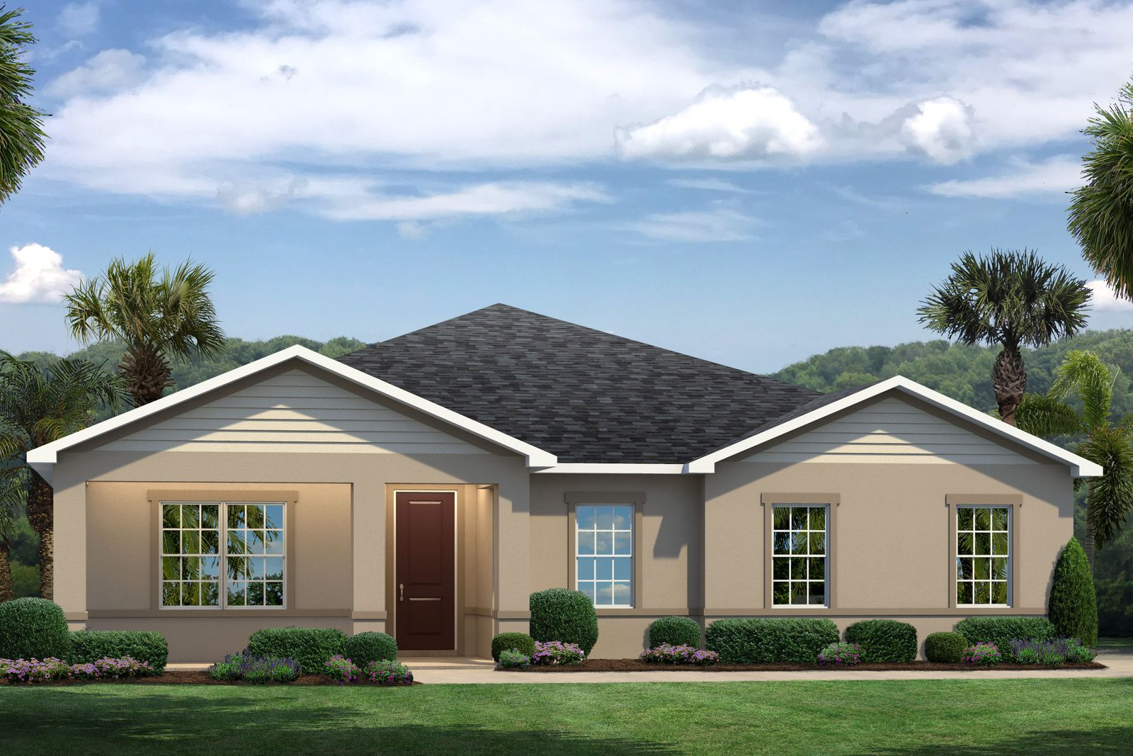 Exterior featured in the Sandalwood By Ryan Homes in Palm Beach County, FL