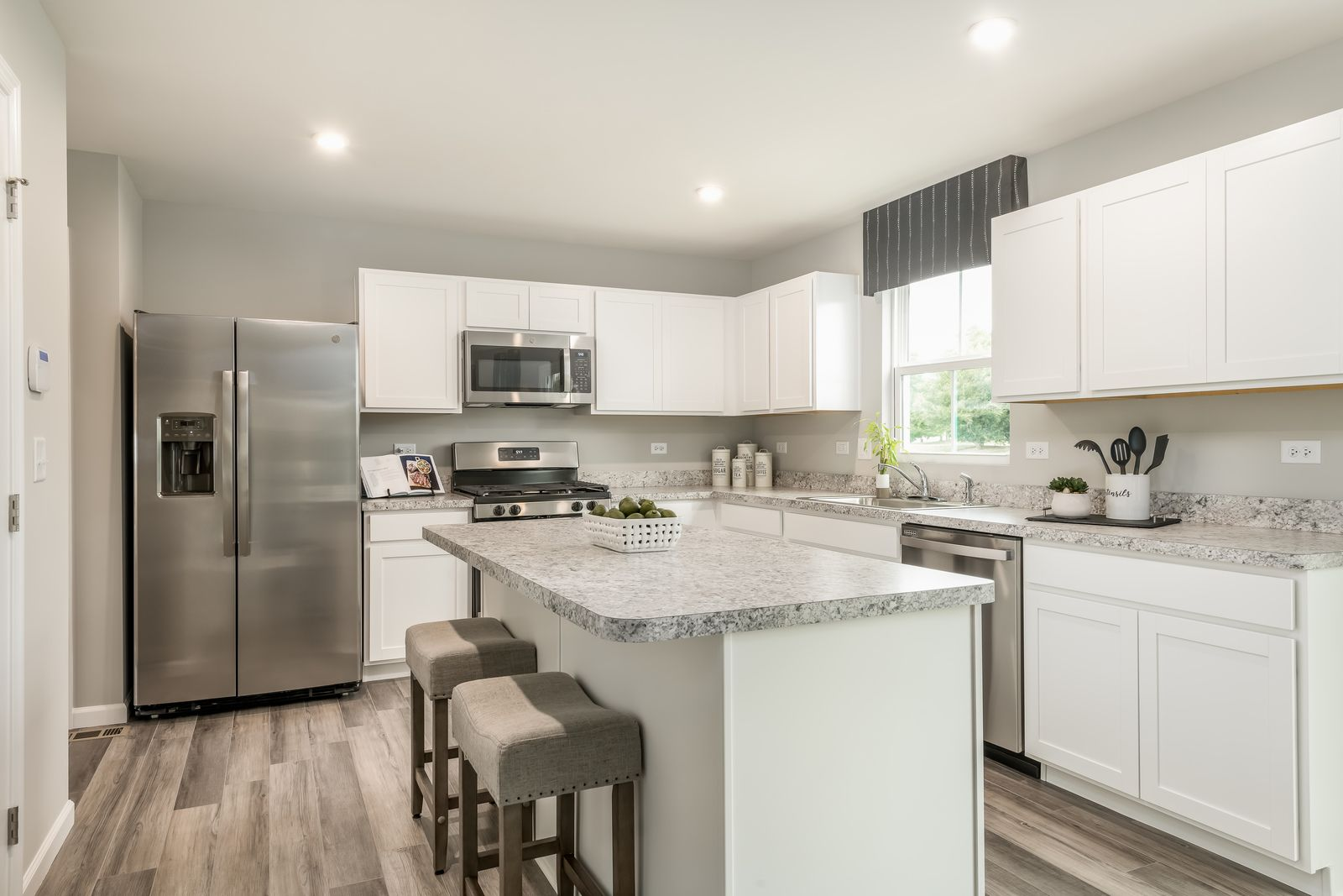 Kitchen featured in the Elm By Ryan Homes in Greenville-Spartanburg, SC