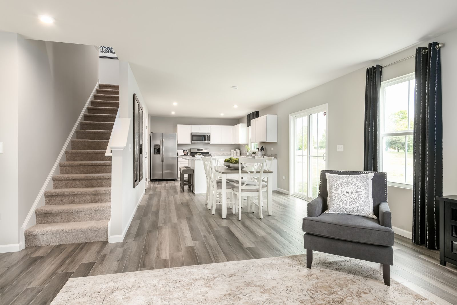Living Area featured in the Elm By Ryan Homes in Dover, DE