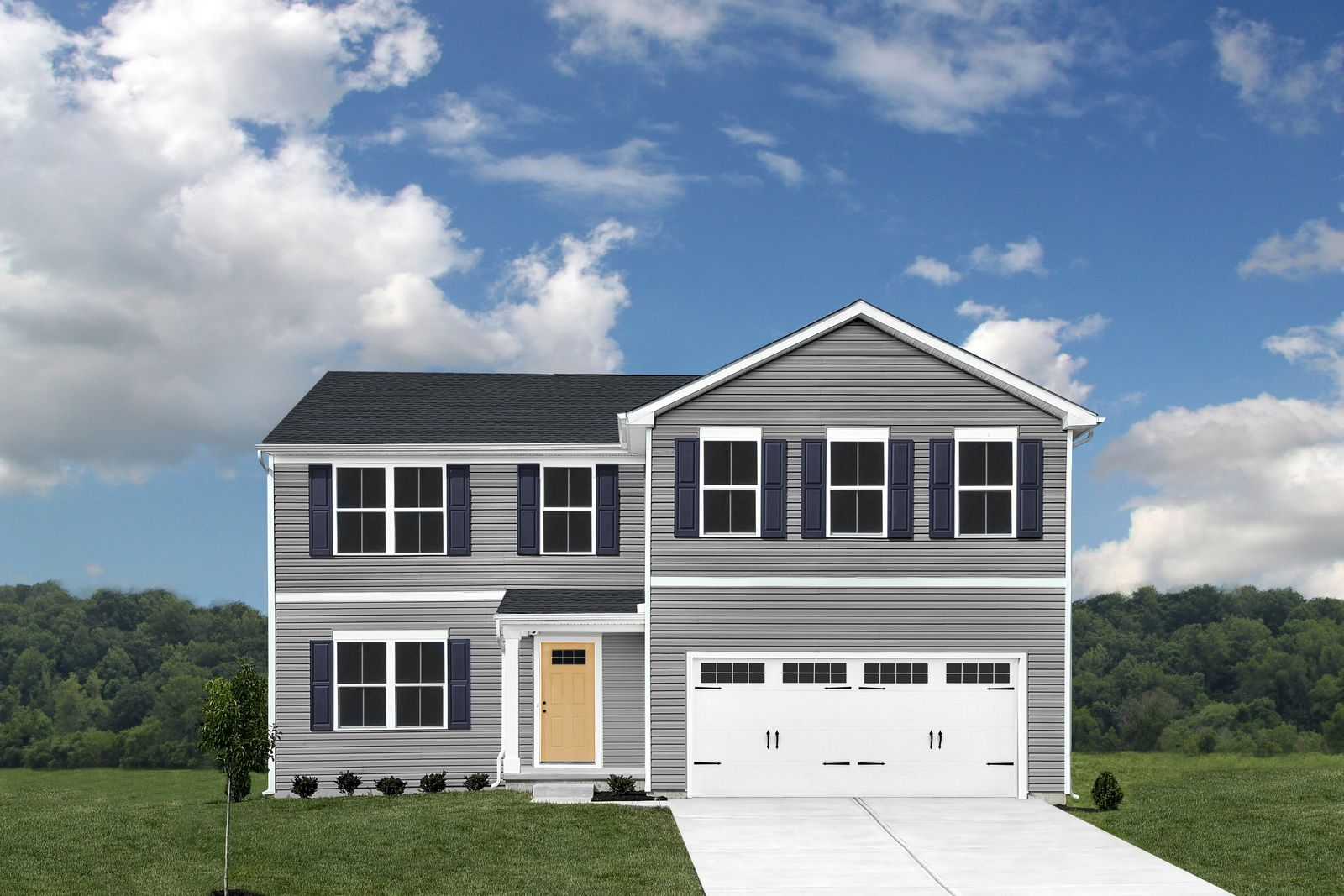 Exterior featured in the Elm By Ryan Homes in Dover, DE