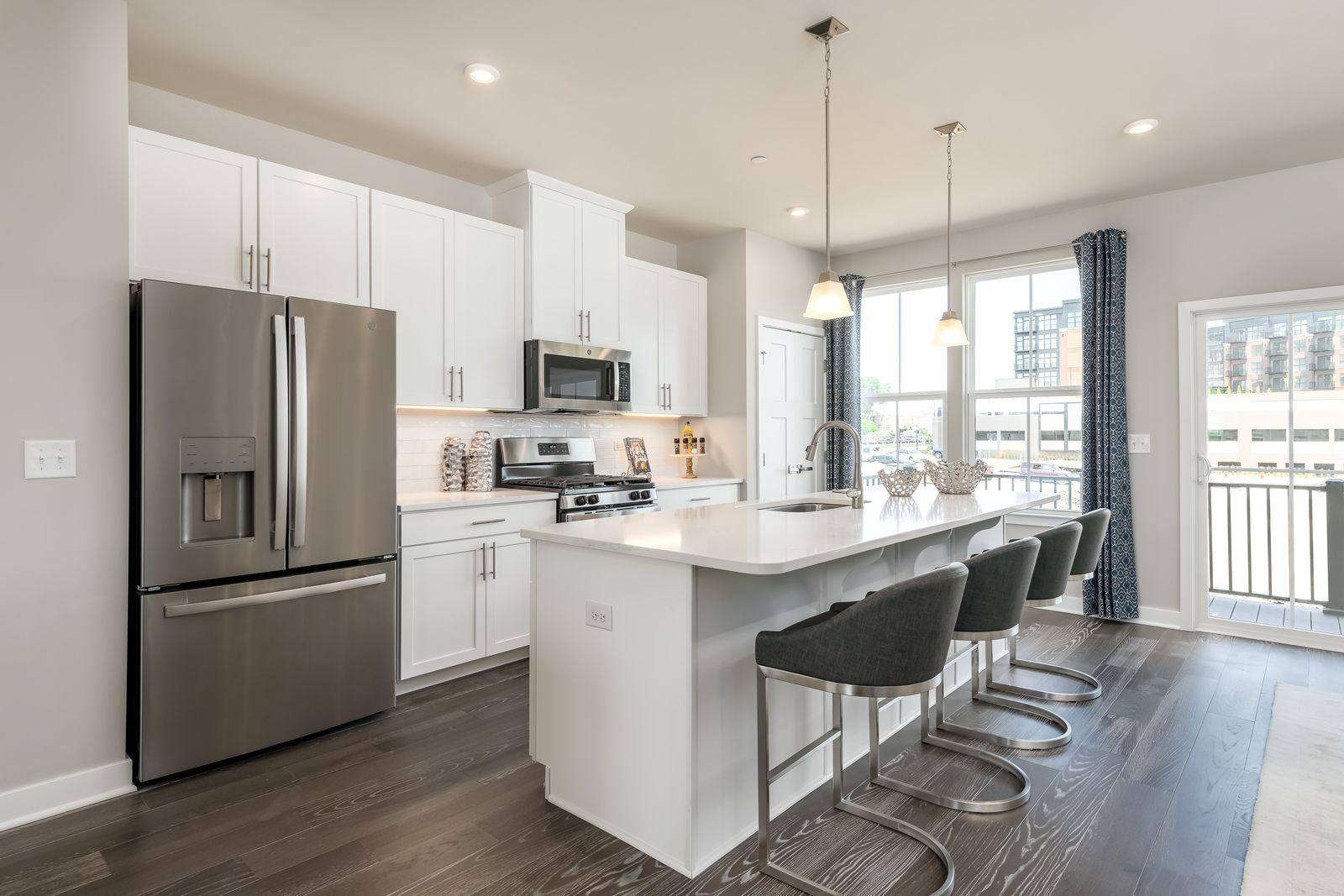 Kitchen featured in the Mendelssohn Rear Garage By Ryan Homes in Washington, MD