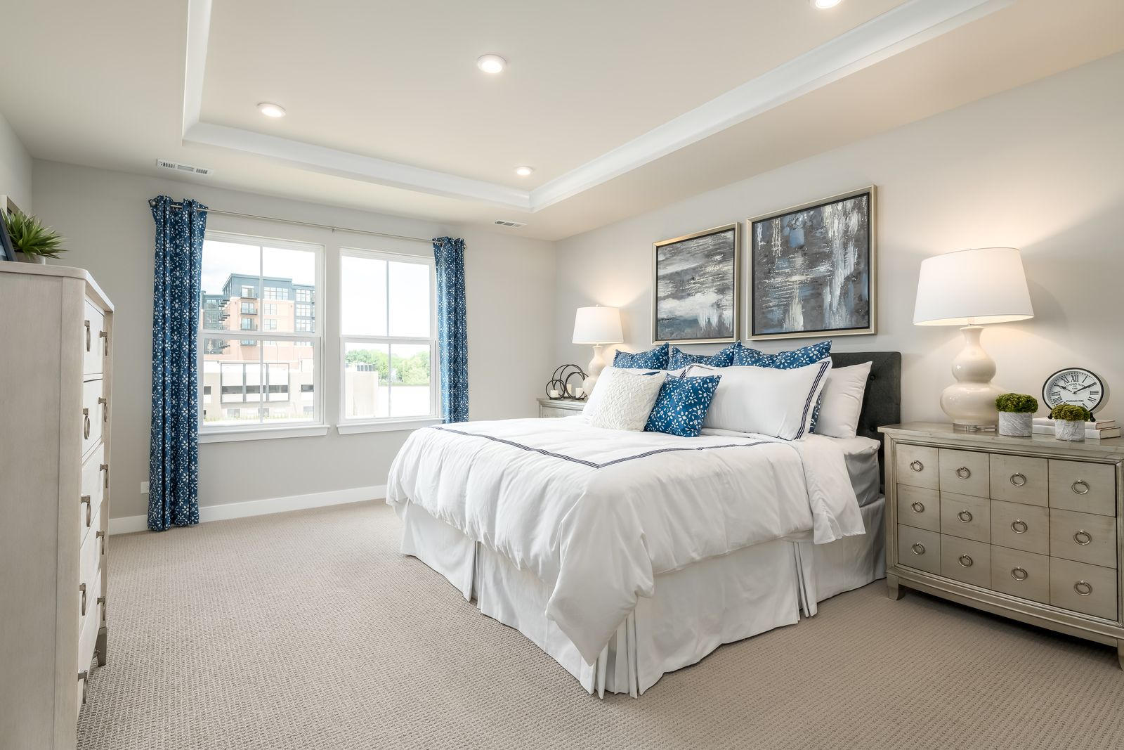Bedroom featured in the Mendelssohn Rear Garage By Ryan Homes in Washington, MD