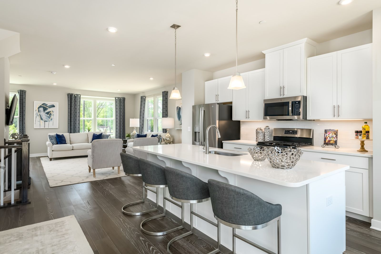 Kitchen featured in the Mozart 2-Car Garage By Ryan Homes in Chicago, IL