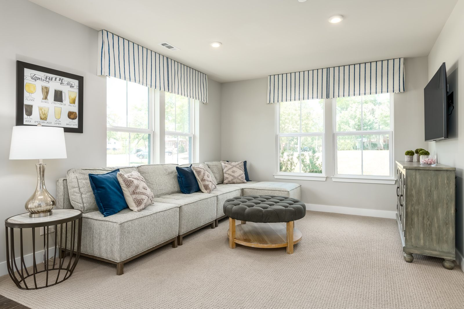 Living Area featured in the Mozart Rear 2-Car Garage By Ryan Homes in Chicago, IL