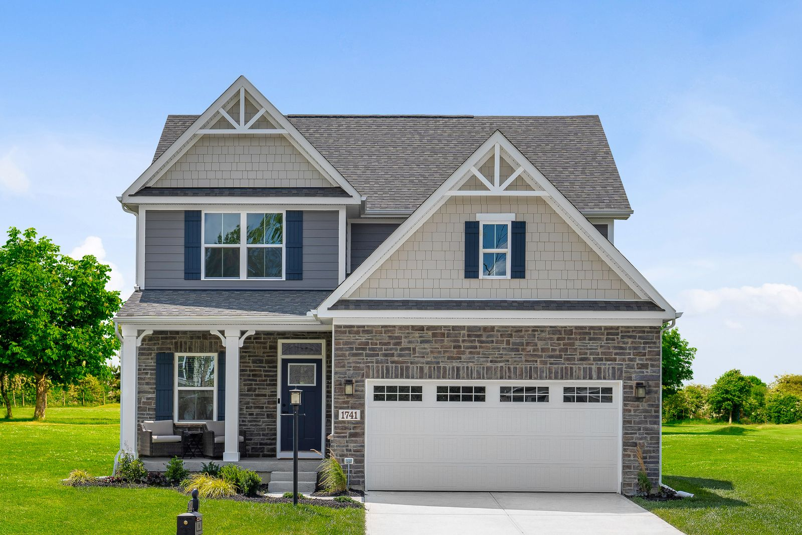 Exterior featured in the Ballenger By Ryan Homes in Canton-Massillon, OH