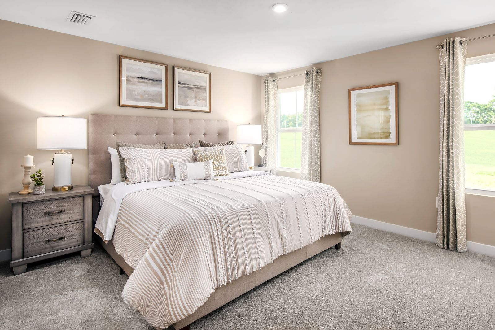Bedroom featured in the Grand Cayman Ranch Slab - Basement Available By Ryan Homes in Chicago, IL