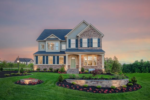 Welcome to River's Edge at Tarrington!:One homesite remains in our main level living section! The Bramante with finished basement and rear covered porch.Click here to schedule your appt!