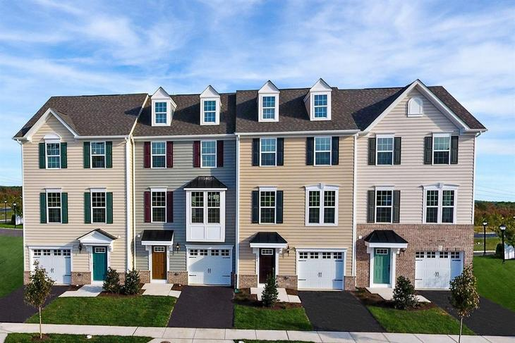 Welcome to High Pointe Crossing:The best-priced new garage townhomes in Monmouth County.