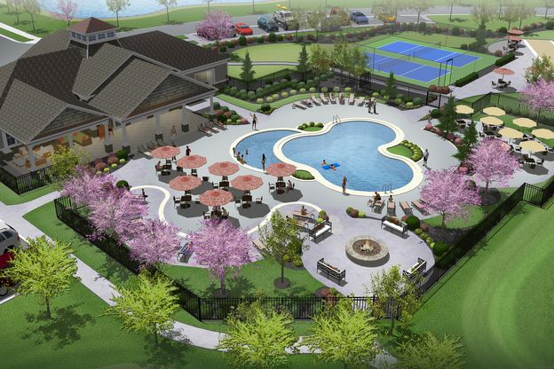 Planned Community Amenities:Amenities at Middle Creek Preserve include a clubhouse with fitness center, outdoor pool, pickle ball courts, and more.