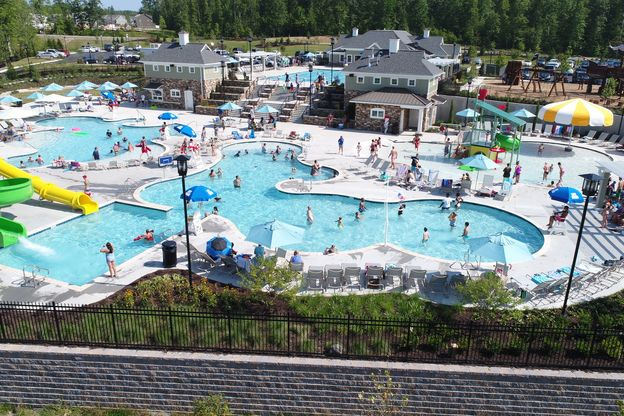 Have you ever lived in a community that you had to decide which of the 6 pools to go to today?:No need to drive to a water park this summer. We've brought the water park to you!Click here to schedule your visit today!