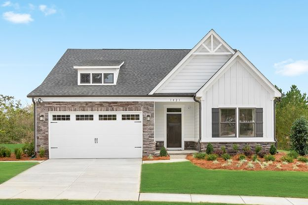 New home community between Indian Trail & Weddington:Build your dream home with farmhouse accents andlive a low-maintenance lifestyle.Schedule a visit to Moore Farm!