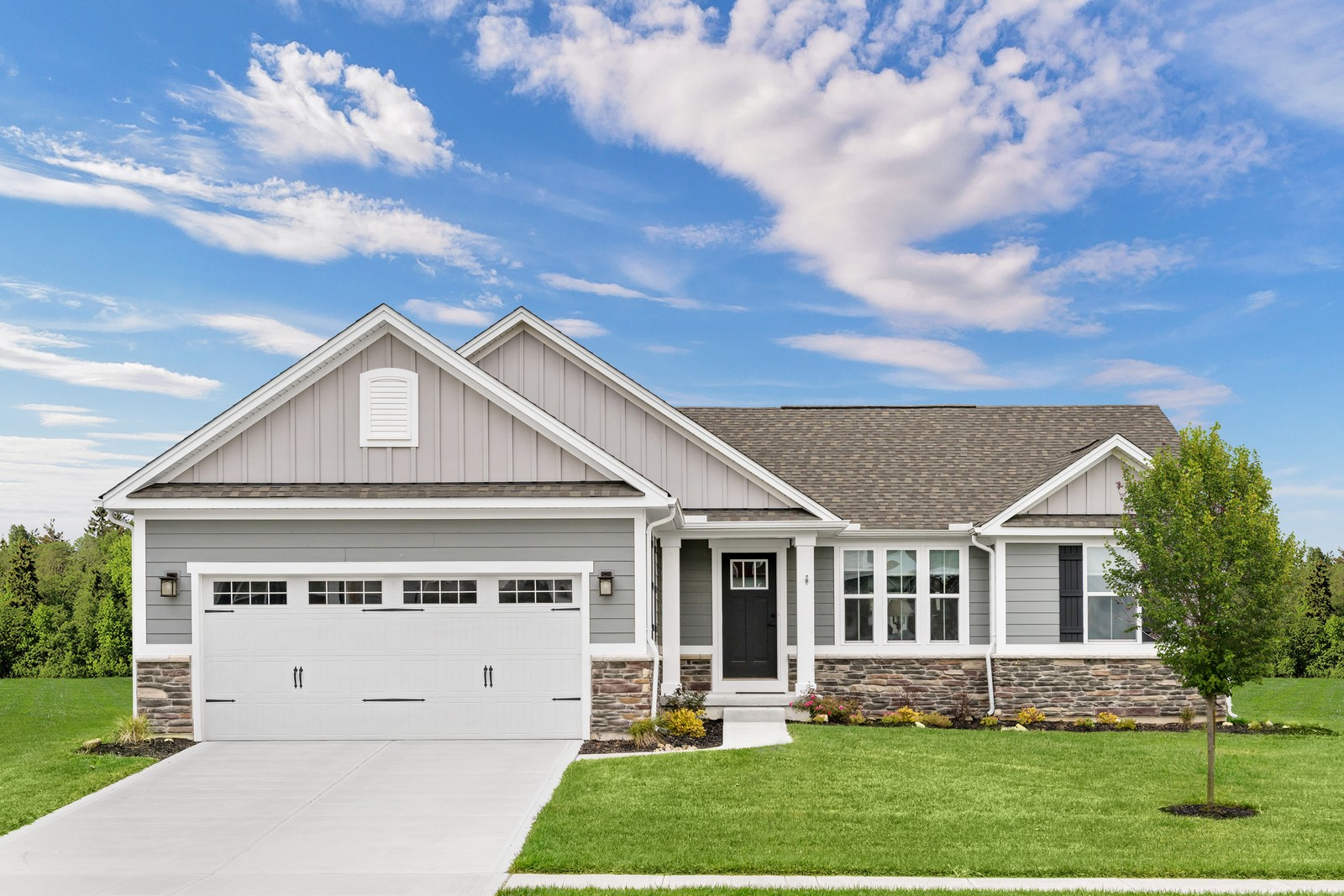 Aviano Included Basement Plan At Autumn Ridge In Lebanon Oh By Ryan Homes