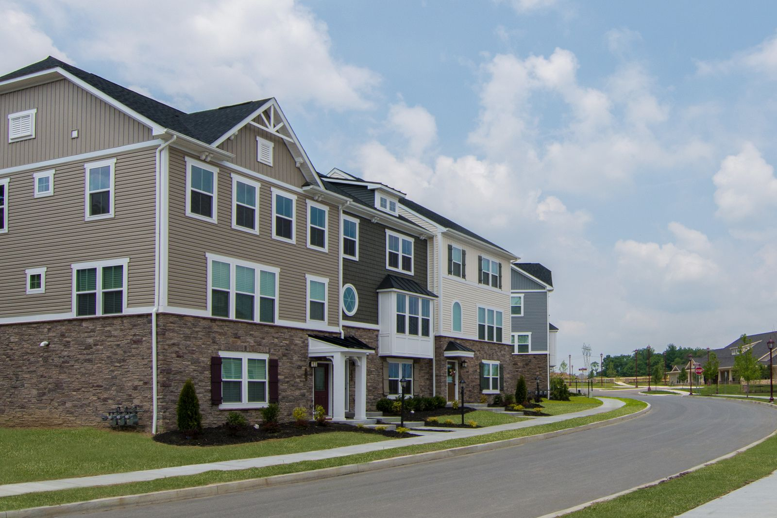 'Park Place Townhomes' by Ryan Homes-PTN in Pittsburgh