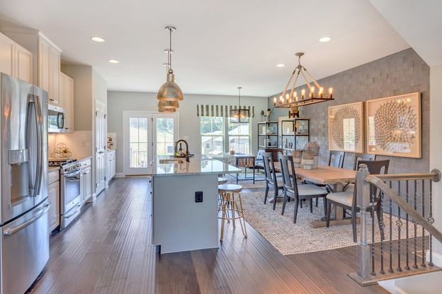 Come home to Pinnacle Place:Click hereto schedule your visit to see Pinnacle Place - the lowest priced townhomes in Washington Township.