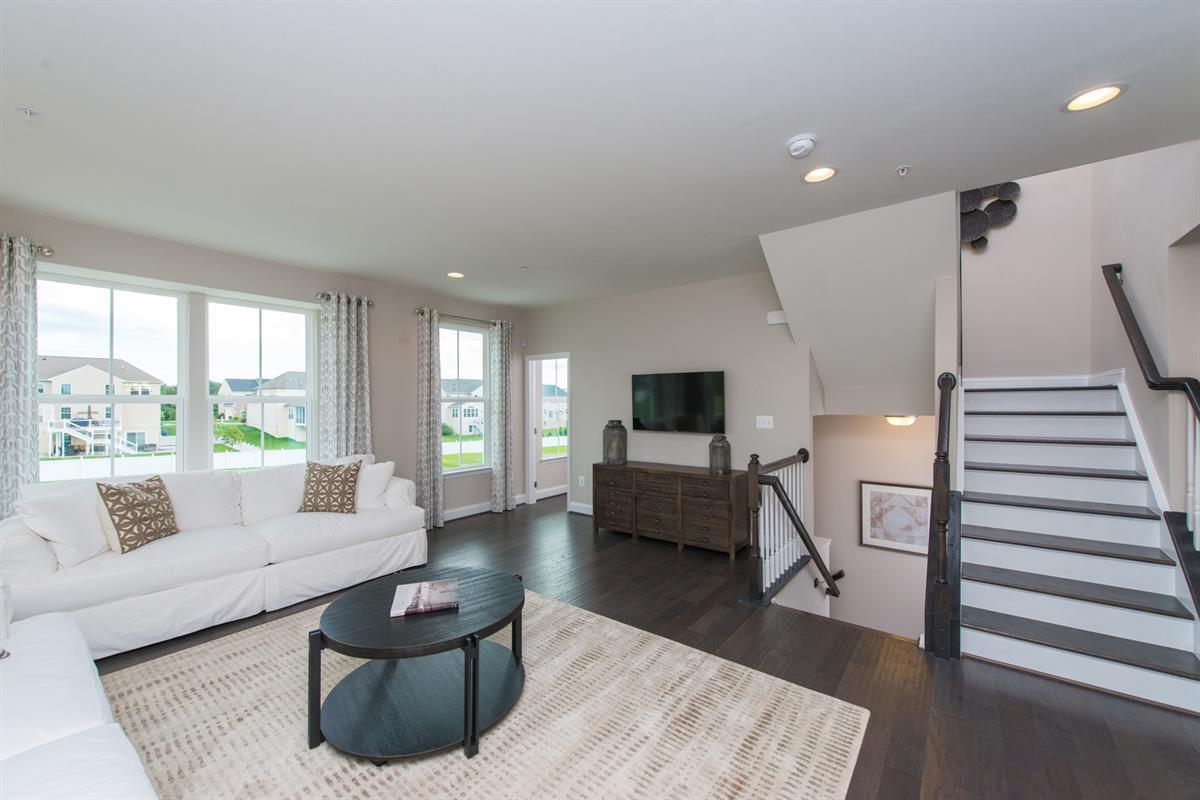 Greatroom-and-Dining-in-McPherson-at-Magness Mill Townhomes-in-Bel Air