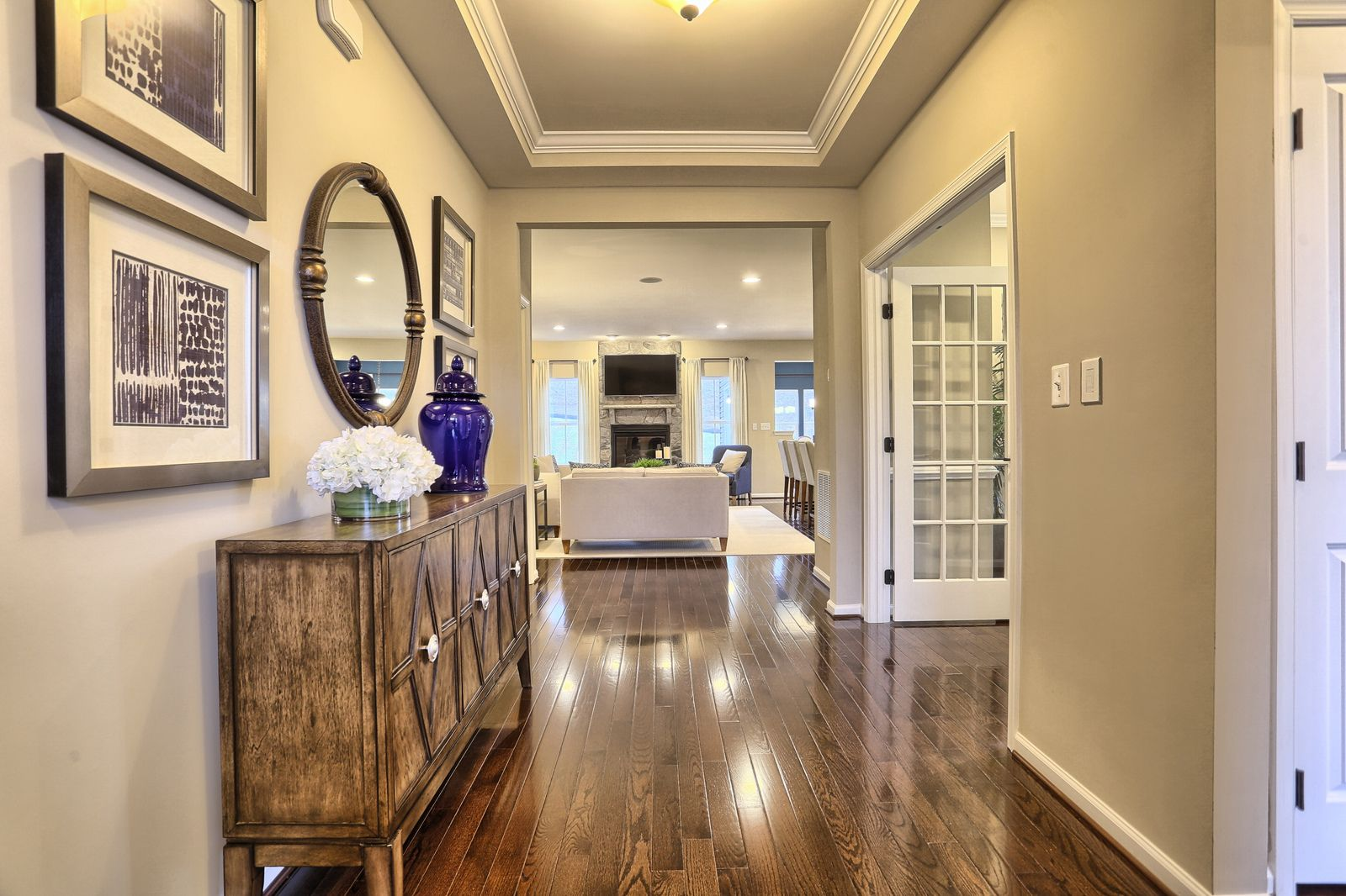 Living Area featured in the Pisa Torre By Ryan Homes in Warren County, NJ