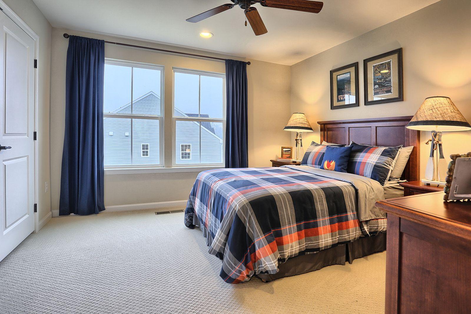 Bedroom featured in the Pisa Torre By Ryan Homes in Warren County, NJ