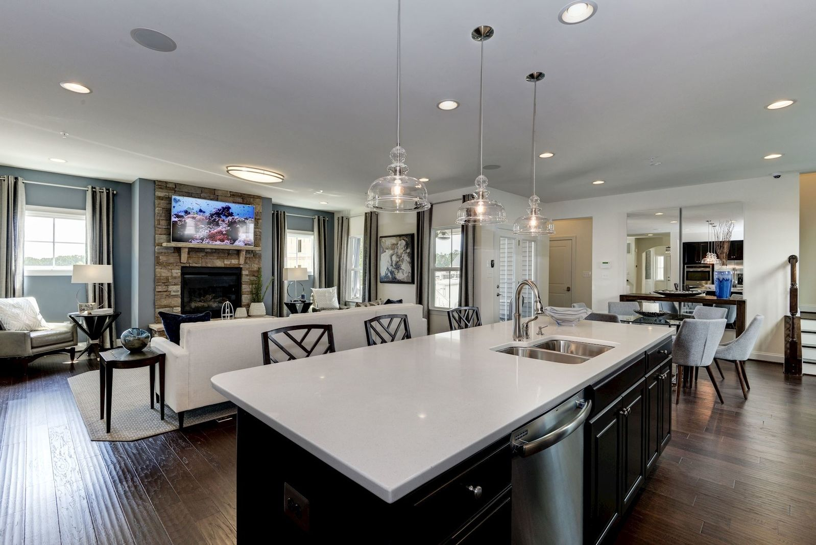 Living Area featured in the Mitchell By Ryan Homes in Baltimore, MD