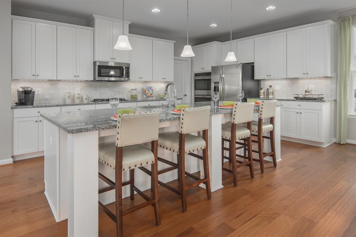 Kitchen-in-Hayworth-at-Bentley Park-in-Burtonsville