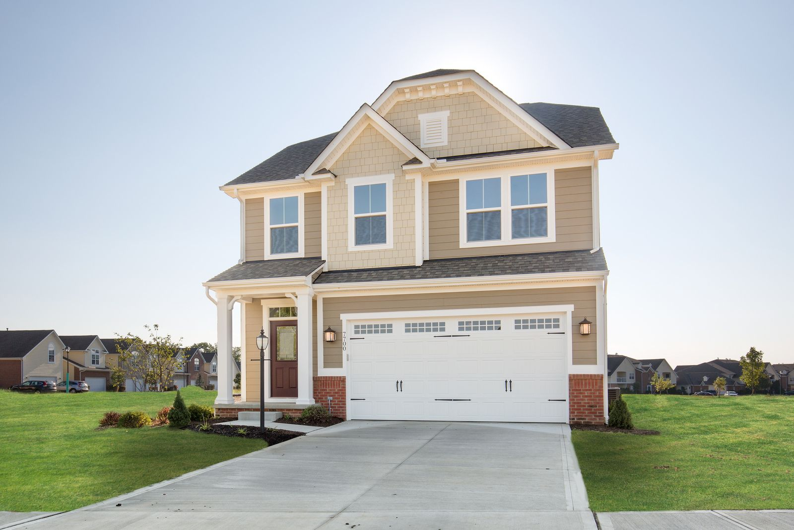 Exterior featured in the Ferncliff By Ryan Homes in Akron, OH