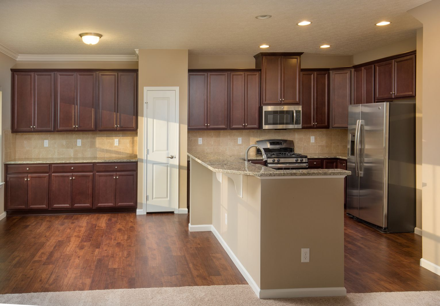 Kitchen-in-Ferncliff-at-Cascadia Craftsman Homes-in-Charlottesville